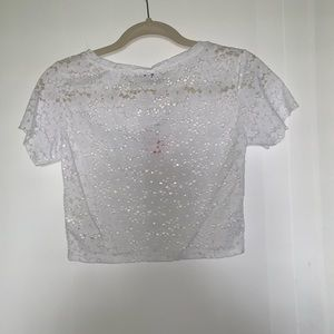Zara Tops - NEW WITH TAGS- Zara White Lace Blouse